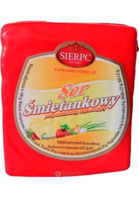 Сыр Sierpc Ser Smietankowy 500g