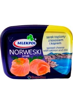Сыр плавленный Mlekpol norweski smak 150g