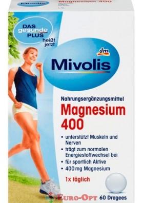 Вітамінний комплекс Mivolis Magnesium 400 60 Dragees