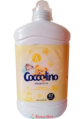 Ополаскиватель для белья Coccolino Sensitive Almond & Cashmere Balm 1.8l