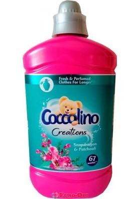 Ополаскиватель для тканей парфюмированный Coccolino Creations Snapdragon & Patchouli 1.8L