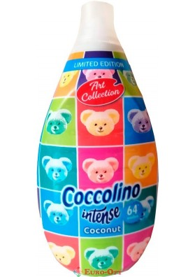 Парфюмированный ополаскиватель тканей Coccolino Intense Coconut 960ml