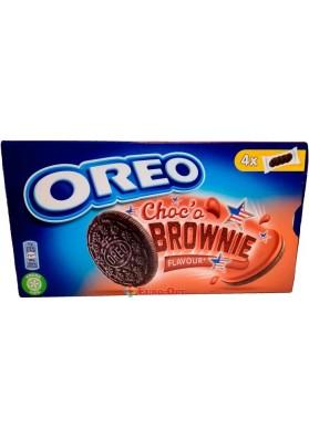 Печиво з начинкою Oreo Choco Brownie 170g