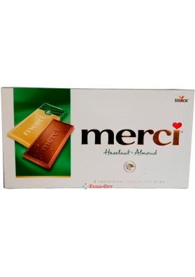 Шоколад Strock Merci Hazelnut Almond 100g