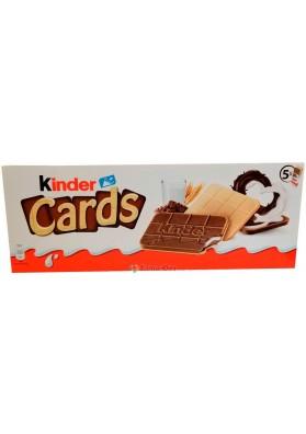Печенье Kinder Cards 128g