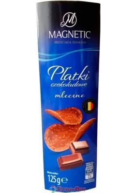 Чипсы Шоколадные Magnetic Молочные 125g