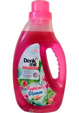 Гель Для Стирки Цветных Тканей Denkmit Tropical Dream 1,1L