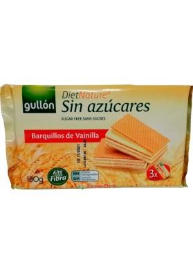 Вафли Gullon Barquillos de Vainilla Diet Nature Sin Azucares 210g