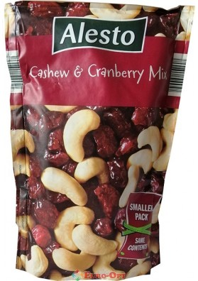 Кешью с Клюквой Alesto Cashew Cranberry Mix 200g