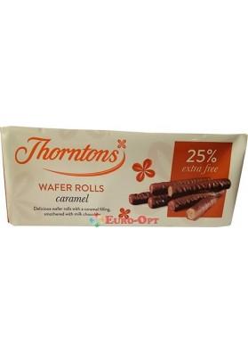 Вафельні Трубочки Thorntons Wafer Rolls Caramel 129g