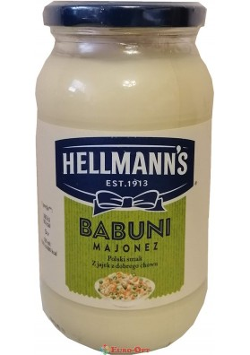 Майонез Hellmann's Babuni 420ml
