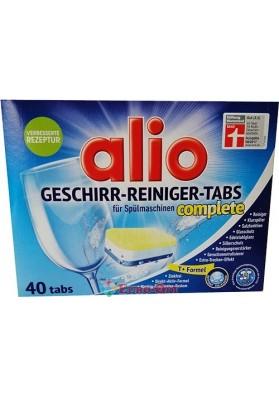 Таблетки Посудомоечные Alio Geschirr-Reiniger-Tabs 40 Tabs