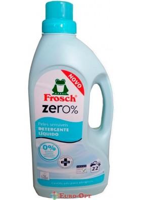 Жидкое средство для стирки Frosch Zero Sensitiv 1.5L