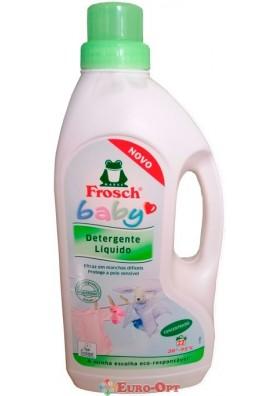 Жидкое средство для стирки детского белья Frosch Baby 1.5L
