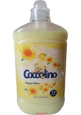 Кондиционер-Ополаскиватель для Белья Coccolino Happy Yellow 1.8L