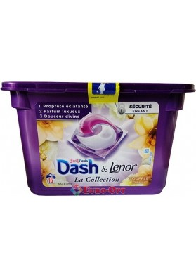 Капсули Для Прання Dash La Collection 3in1 Souffle Precieux 411g