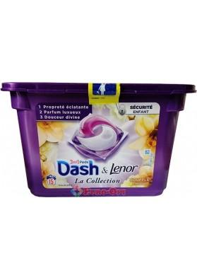 Капсулы Для Стирки Dash La Collection 3in1 Souffle Precieux 411g