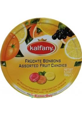 Леденцы Kalfany Fruit Selection Фруктовое Ассорти 150g