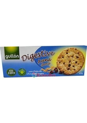 Печенье Овсяное с Шоколадной Крошкой Gullon Digestive 270g