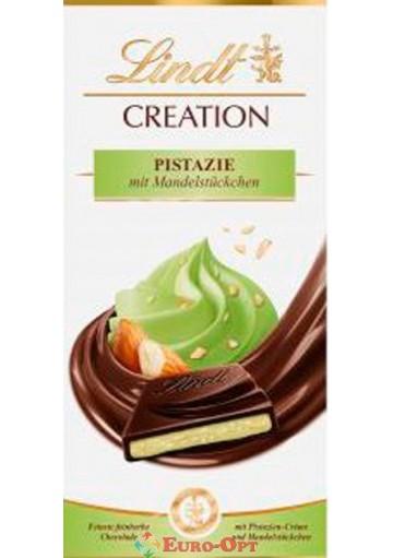 Чёрный Шоколад Lindt Creation Pistazie 150g