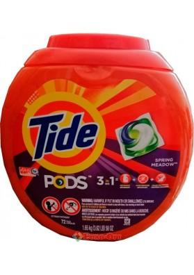 Капсулы для Стирки Tide Pods 3in1 72 Tabs
