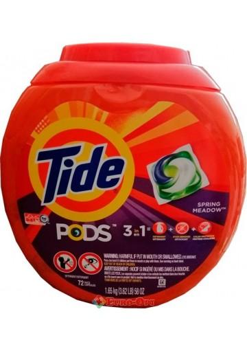 Капсули для Прання Tide pods 3in1 72 Tabs