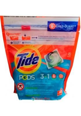 Капсулы для Стирки Tide Pods 3in1 Ocean Mist 20 Tabs