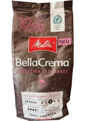 Кофе в Зернах Melitta BellaCrema Selection des Jahres Nougat 1kg