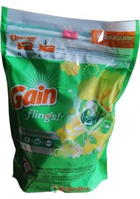 Капсулы для стирки Gain Flings 3in1 33 Tabs