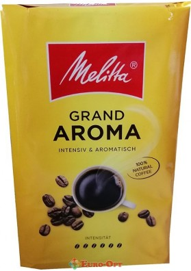 Смажена Мелена Кава Melitta Grand Aroma 500g